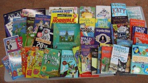 Third Class gets new books