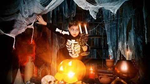 A Spooky Halloween Story from 4B